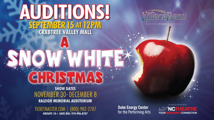 Will It Snow For Christmas Cast.A Snow White Christmas Auditions Duke Energy Center For